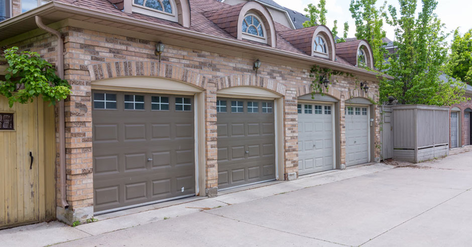 Garage door installment
